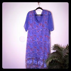 Boho chic maxi dress